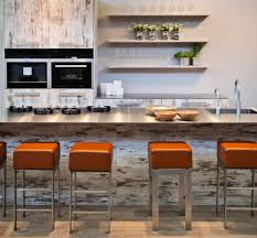 great height of standard island size using aluminum countertop and