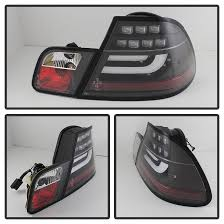2004 bmw 330i tail lights spyder 5076564 bmw e46 3 series 2dr light bar style led tail