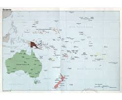 French Polynesia Map Maps Of Oceania And Oceanian Countries Political Maps Road And