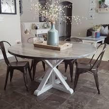 round farmhouse dining table rustic handmade round farmhouse dinning table rounding dinning
