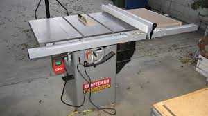 Craftsman Portable Table Saw Review Craftsman 22116 Premium Hybrid Tablesaw By Dnick