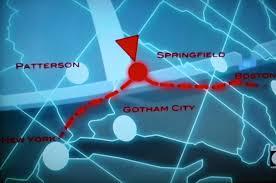 Map Of Gotham City Gotham City U2026 Connecticut Panels On Pages