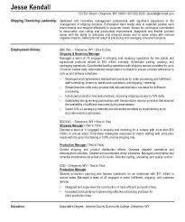 Receiving Clerk Job Description Resume Shipping And Receiving Duties Resume Resume Ideas