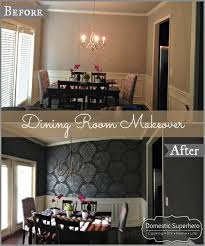 dining room makeover pictures dining room makeover domestic superhero