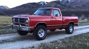Ram Dodge Pickups 1981 93 1984 Dodge W150 Power Ram Short Bed 4wd One Owner Spotless