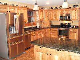 Hickory Kitchen Cabinets Home Depot Coffee Table Image Result For What Countertops With Hickory