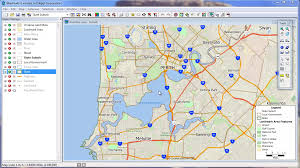 Shortest Route Map by Finding Shortest Paths With Maptitude 2014