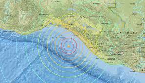 Earthquake Incident Map 8 0 Magnitude Quake Reported Off West Coast Of Mexico U2013 Tsunami