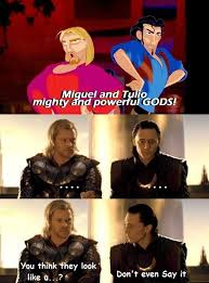 Funny Thor Memes - why are people incorporating the road to el dorado to thor but i