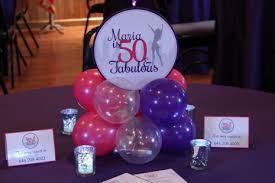 50th birthday flowers and balloons balloon centerpieces balloon artistry