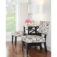 White Accent Chair Black And White Accent Chair 36080bwc 01 Kd U The Home Depot