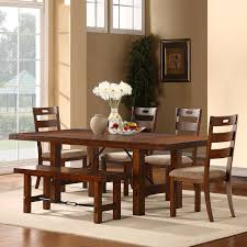 oxford creek ronay rustic oak turnbuckle 6 piece dining set home oxford creek ronay rustic oak turnbuckle 6 piece dining set home furniture dining kitchen furniture dining sets collections