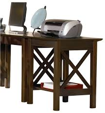 Atlantic Furniture Lexington Printer Stand In Antique Walnut - Lexington office furniture