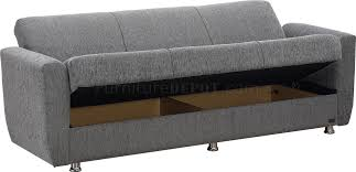 sofa beds nyc sofa bed convertible in grey fabric w options by empire