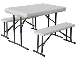 folding picnic table bench kit home design ideas
