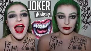 joker halloween makeup tutorial maddy sandars youtube