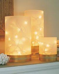 cheap glowy candle lighting clear cylinder vases from dollar