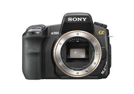 sony dslr a200k 10 2mp digital slr camera zoom lens amazon co