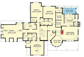 large family floor plans spectacular home for the large family 20095ga architectural