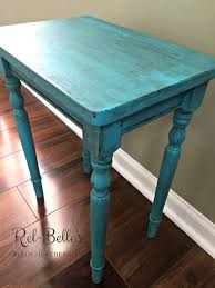 Teal Accent Table Turquoise Accent Table Rel Belle U0027s Reloved