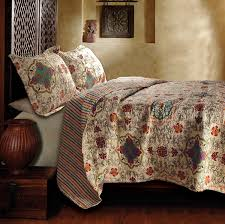 amazon com greenland home esprit spice quilt set king home