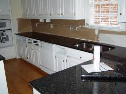 Kitchen White Cabinets Black Countertops Kitchen With White Cabinets And Dark Countertops One Of The Best