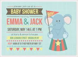 circus baby shower invitation eddiejwilliams me
