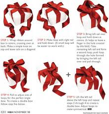 tying gift bows ribbons and gift wrapping techniques at home with vallee