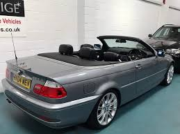 used 2004 bmw 3 series 2 5 325ci se convertible 2dr petrol