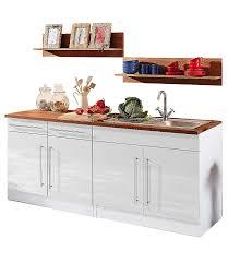 Kueche Mit Elektrogeraeten Guenstig Küchenzeile Keitum Held Möbel Ohne Elektrogeräte Breite 200