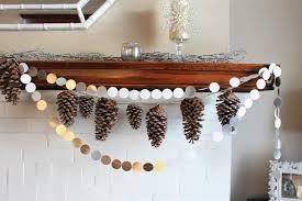 how to make pine cone garland pretty handy