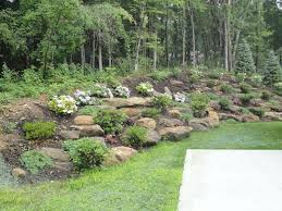 Backyard Slope Landscaping Ideas Steep Slope Landscaping Ideas Klein S Lawn Landscaping