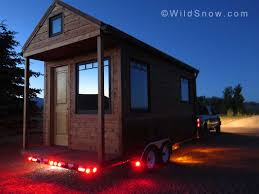 insta hut porta hut tiny house backcountry installation the
