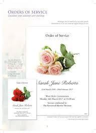 Funeral Stationery Funeral Stationery F P Guiver U0026 Sons Ltd