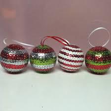 easy diy christmas ornaments i make them with styrofoam balls