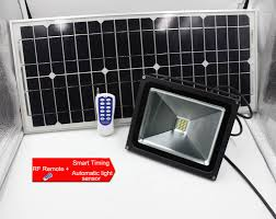 Remote Outdoor Light by 10w Dc12v Rf Remote Solar Led Flood Lights Solar Dimmable Led