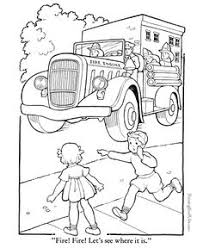 firefighter coloring pages kids enjoy coloring kleurplaat