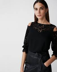 sleeve lace blouse tie sleeve lace blouse express