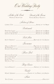 wedding reception program inspirational 50th wedding anniversary reception program