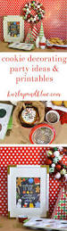 kids cookie decorating party ideas with glade cookie