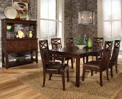 Kathy Ireland Dining Room Furniture sonoma 7 piece dining table and chairs set by standard furniture