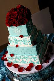 beauty of tiffany blue wedding cakes u2014 marifarthing blog
