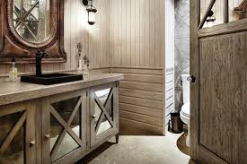 Rustic Bathroom Colors Mirrored Bathroom Vanity Colors Doherty House Beautiful