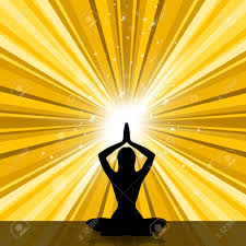 sun rays showing not war and peace sign stock photo picture