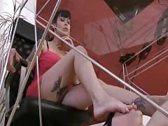 Under Desk Foot Slave Under Her Desk Jzha Com
