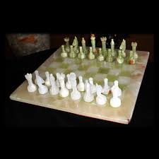 decmode 17 in modern reflections metal and wood chess set hayneedle