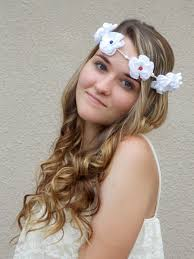 hippie flower headbands hippie floral crown mojo s free spirit