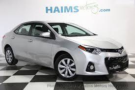 used toyota 2014 2014 used toyota corolla 4dr sedan cvt s at haims motors serving