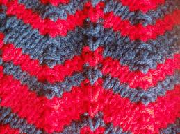 zig zag knitting stitch pattern september 2011 little sweet knittings