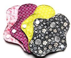 serviette coton bio protège slip lavable en coton bio réutilisable écologique x 4 x 5g